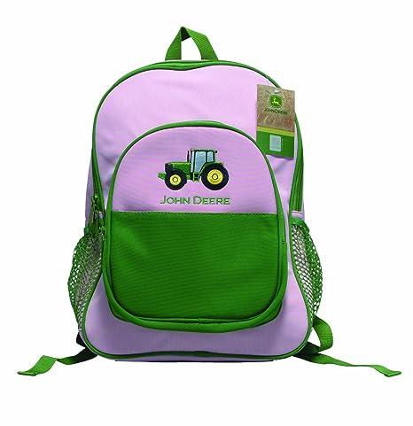 John Deere rosa y verde mochila – SW61141