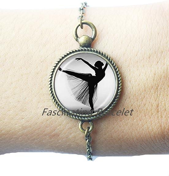 Degas Ballerina Bracelet ballet style jewelry,dance Bracelet,AQ150 degas ballerina Bracelets ballet dance jewelry Ballerina dance jewelry