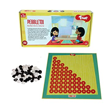 Buy Toiing Pebble TOI 2 In 1 Traditional Indian Fun Strategy Board Game For Kids Unique Birthday Gift Boys And Girls Online At Low Prices India