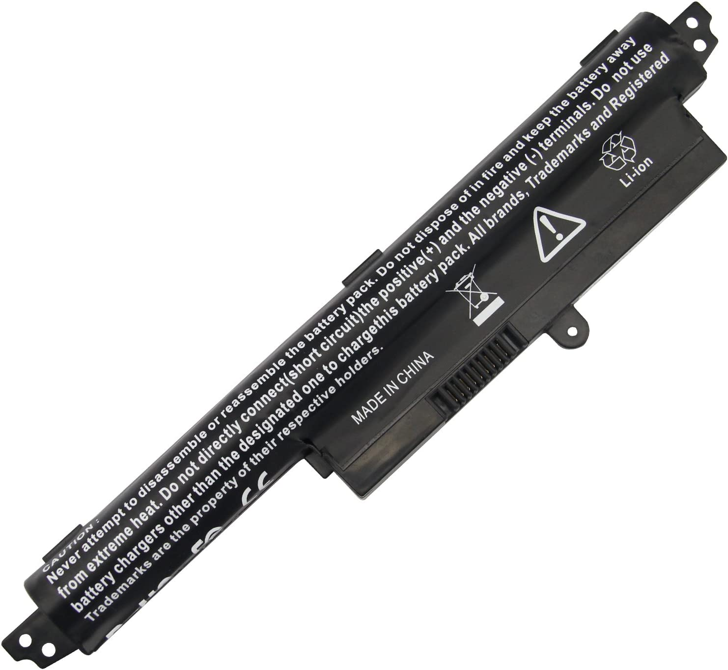 "AC Doctor INC Laptop Battery for ASUS VivoBook X200CA F200CA 11.6"" Series A31N1302 A31LMH2 A31LM9H 1566-6868 0B110-00240100E, 2200mAh/11.1V/3-Cells"