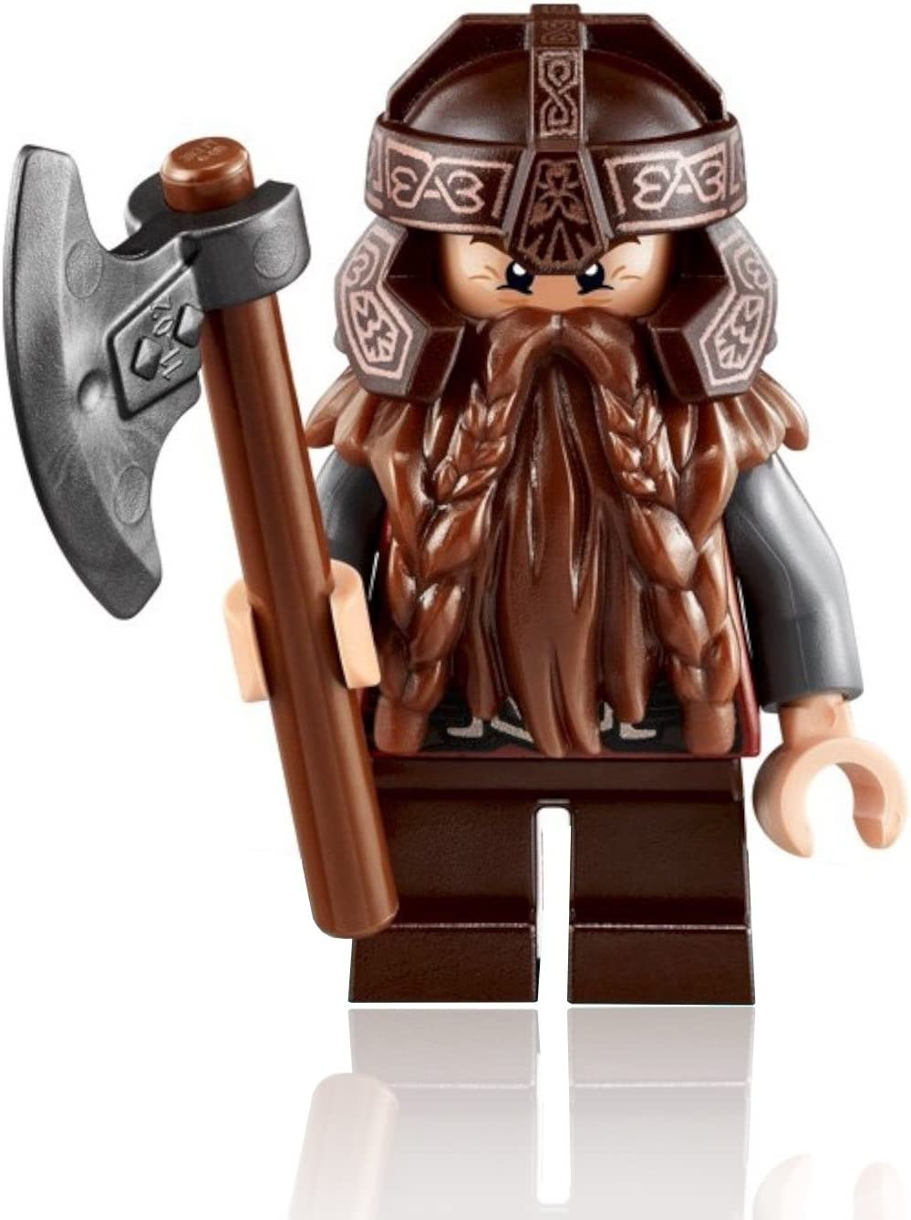 LEGO the Lord of the Rings MiniFigure - Gimli the Dwarf (with Axe) 79008