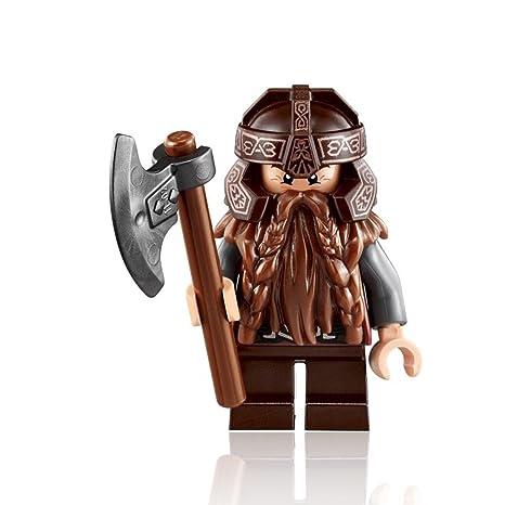 scegli originale seleziona per il meglio allacciarsi dentro LEGO Il Signore Degli Anelli: Gimli Minifigura