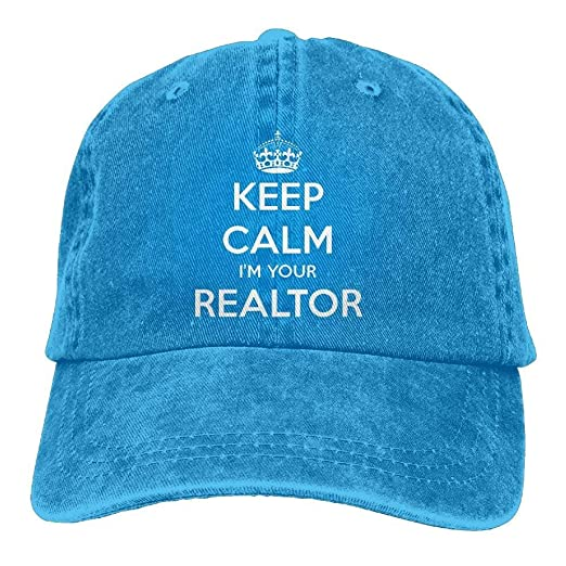 71255376c8f ji jing Keep Calm I m Your Realtor Polo Style Classic Baseball Dad ...
