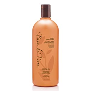 Bain de Terre Keratin Phyto-Protein Sulfate-Free Strengthening Shampoo, with Argan and Monoi Oil, Paraben-Free, 33.8-Ounce