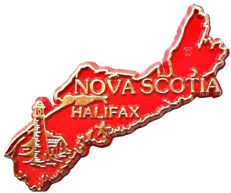 Nova Scotia Halifax 4 Color Canadian Province Fridge Magnet
