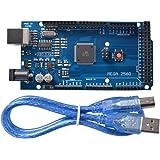 XCSOURCE® Mega 2560 R3 + Cable USB / Mega 2560 R3 Atmega2560-16AU Tarjeta del módulo 2012 Versión para Arduino TE629