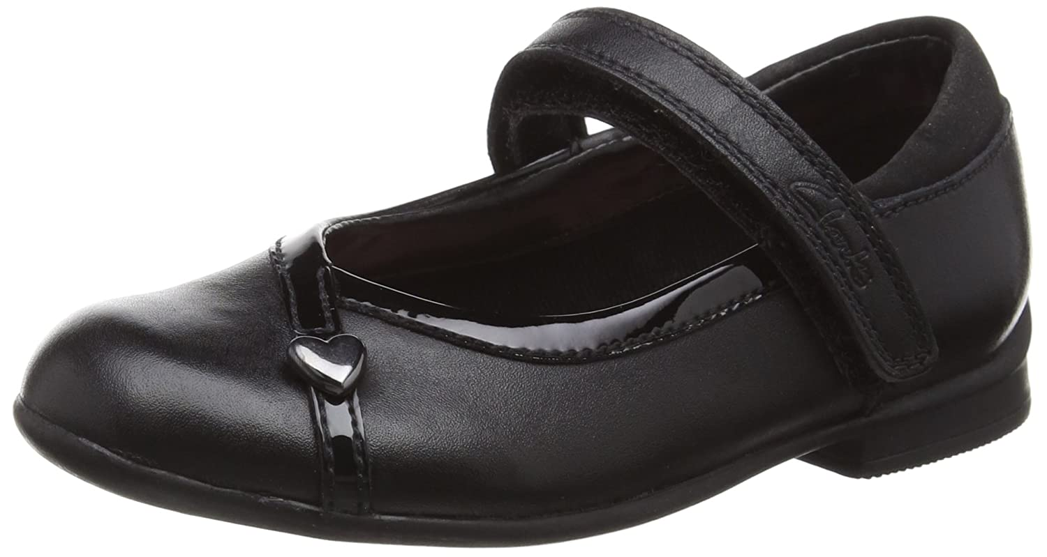 Clarks Kids Dolly Babe Inf, Ballerines Fille