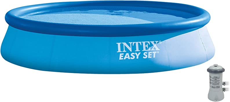 Intex 28141EH - Piscina (Piscina Hinchable/con Anillo Hinchable ...