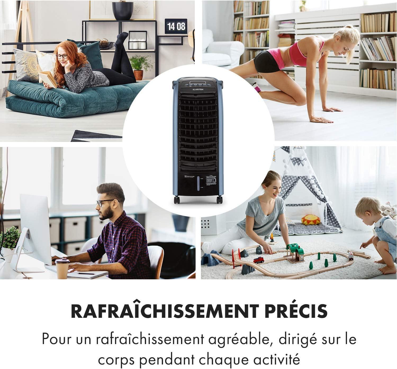 KLARSTEIN Rafra/îchisseur dair Trois Niveaux de Puissance Ventilateur
