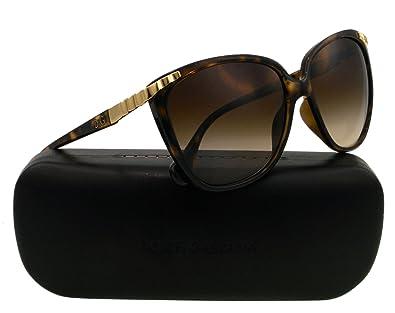 Amazon.com: D & G – Gafas de sol, Color dd8096/marco: Havana ...