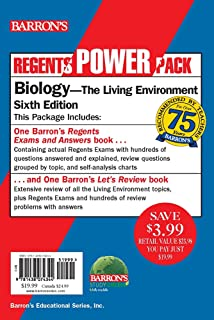 Amazon barrons regents exams and answers biology biology power pack fandeluxe Image collections