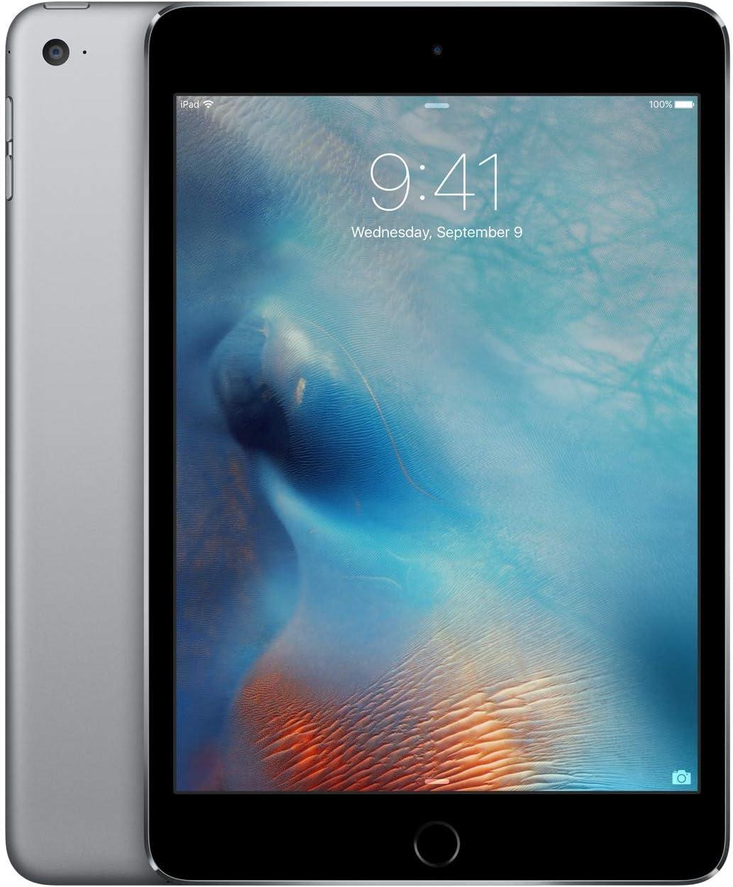 Amazon.com: Apple iPad Mini 4 (Wi-Fi, 128GB) - Space Gray
