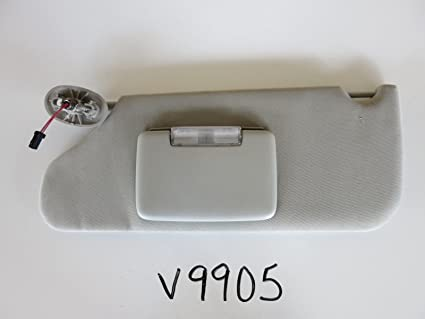 009f23bfc88 Amazon.com  05-10 GRAND CHEROKEE LEFT DRIVER SIDE INTERIOR SUN VISOR  SUNVISOR GREY V9905  Everything Else