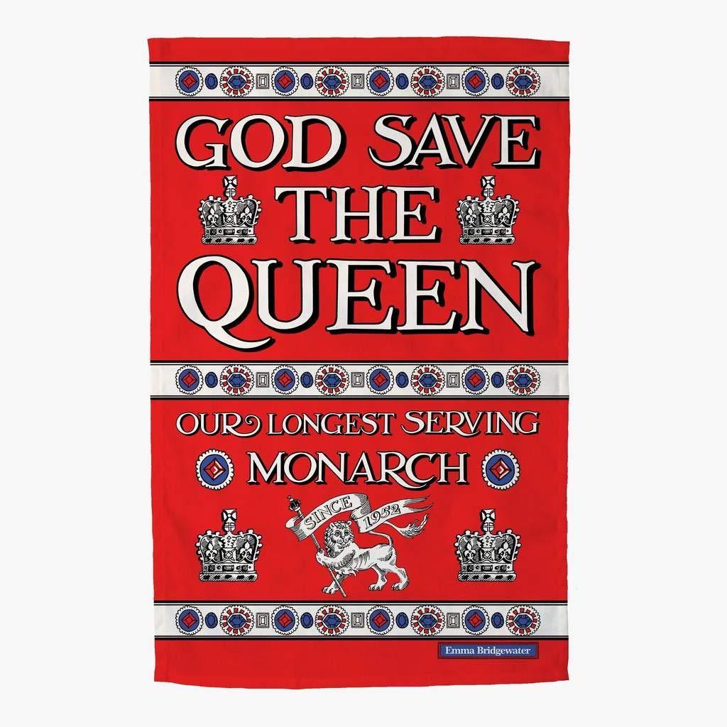 Emma Bridgewater God Save The Queen Tea Towel