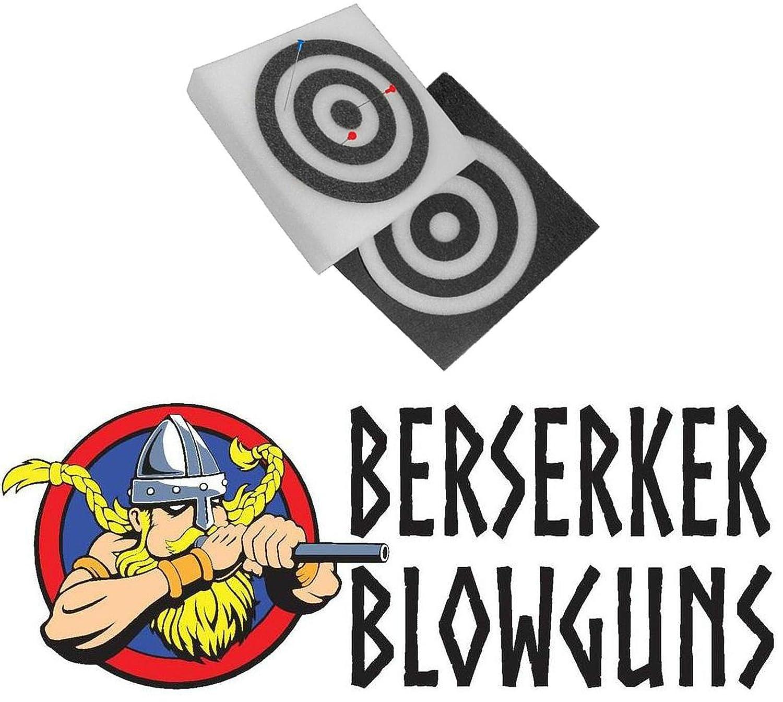 "12/"" X 12/"" Square Self Healing Foam Blowgun Target from Berserker Blowguns"