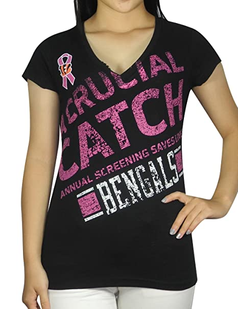 GIII For Her Limited Edition CINCINNATI BENGALS T Shirt (Vintage Look) for  Womens S 3ae96bb32