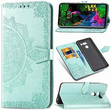 QIANHUA Compatibles LG G8 ThinQ Funda, Patrones de Mandala en ...