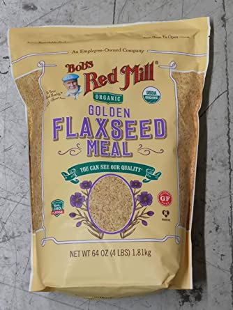 Bob's Red Mill Organic Whole Ground Golden Flaxseed Meal