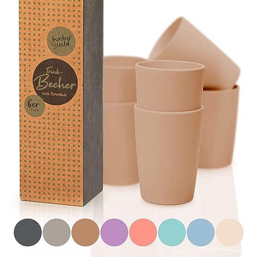 Juego de 6 tazas para beber/tazas aprox. 370 ml | tazas de ...