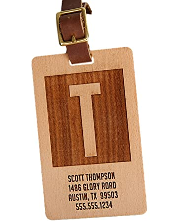 Anderson Design Gift for Travelers Men and Women 4 Luggage Tags, Aqua Personalized Luggage Tags Gifts with Engraved Design - Elegant and Durable Travel Suitcase Name Tags