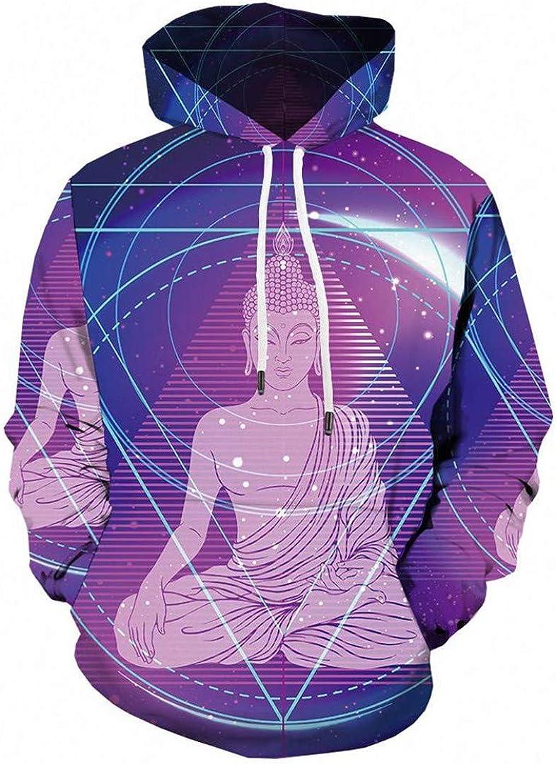 HR-Henopjst Men Skull 3D Hooded Sweatshirt Gray Anime Hoodies Printed Hip Hop Clothing Shirts Streetwear Style