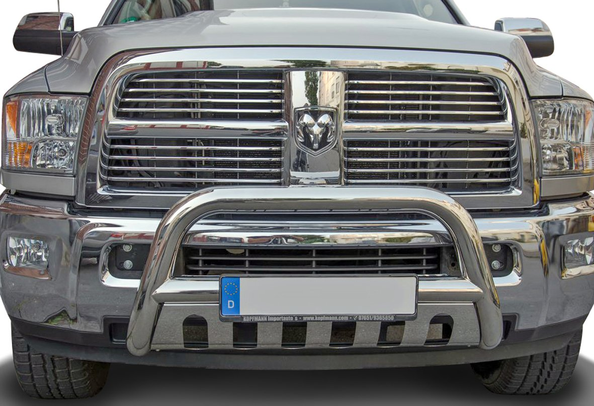 Stainless Steel Underrun Protection Front Protection Bar /Without Abe//T/ÜV Certified Part/ 75/mm Diameter/ /Not Suitable For Model Laramie