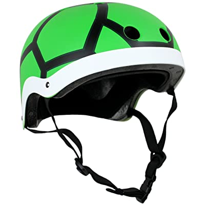 Krown Adult Graphic Helmet OSFA Turtle : Sports & Outdoors