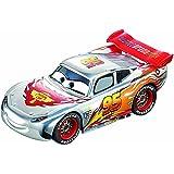 Carrera Go - 20061291 - Radio Commande, Véhicule Miniature et Circuit - Silver Lightning McQueen