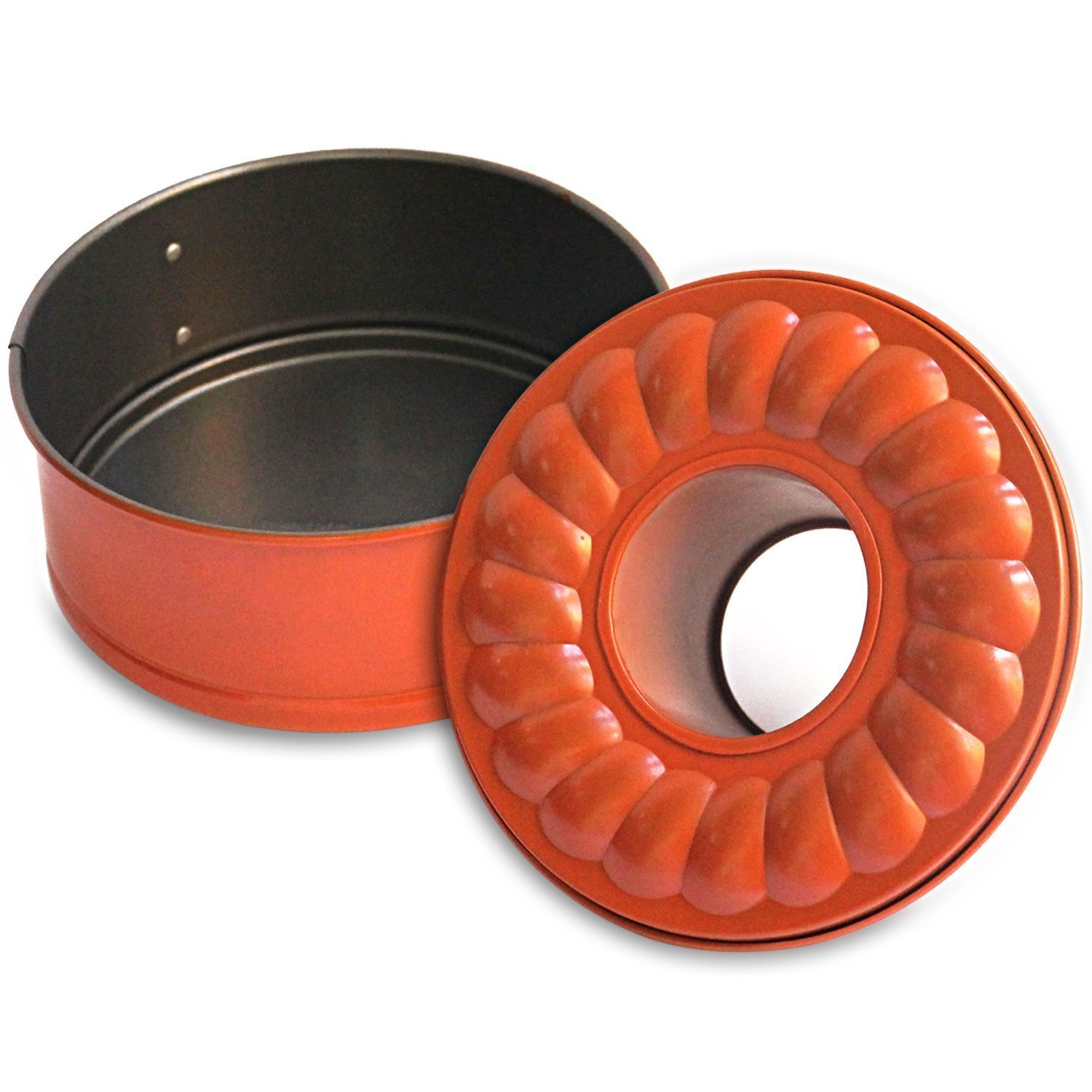Pressure Cooking Three Piece Bundle Set For Use With Pressure Cookers And Oven, Includes 7'' Spring form Bundt Pan, Steamer Trivet, Silicone Mitt by Debbiedoo's (Image #2)