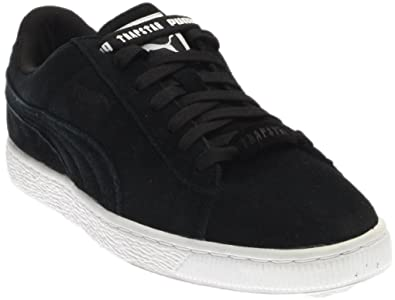a7a58d35737ebe PUMA Suede X Trapstar Mens Shoes Black White 361500-01 (9.5 D(