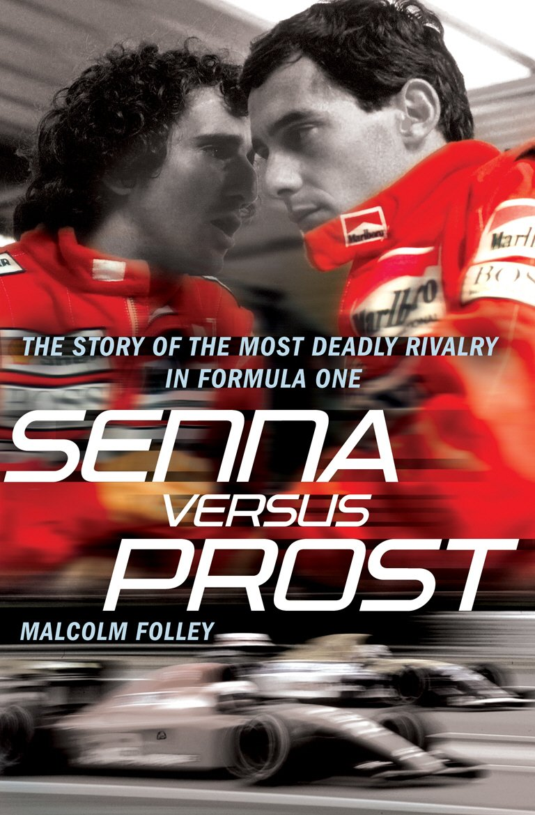 Image result for Senna vs Prost book