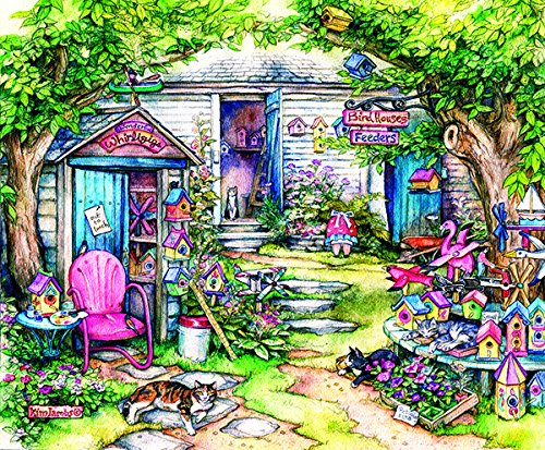 SunsOut Wonderful Whirligigs 300 Piece Jigsaw Puzzle