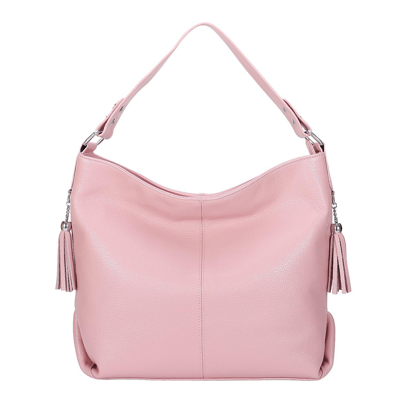5e1d2b9e85ea BIG SALE-AINIMOER Womens Leather Vintage Shoulder Bag Ladies ...