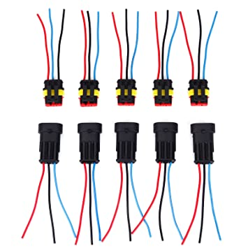 3 pin way car auto waterproof electrical connectors amazon co uk rh amazon co uk Boat Switch Wiring Marine Wiring Supplies