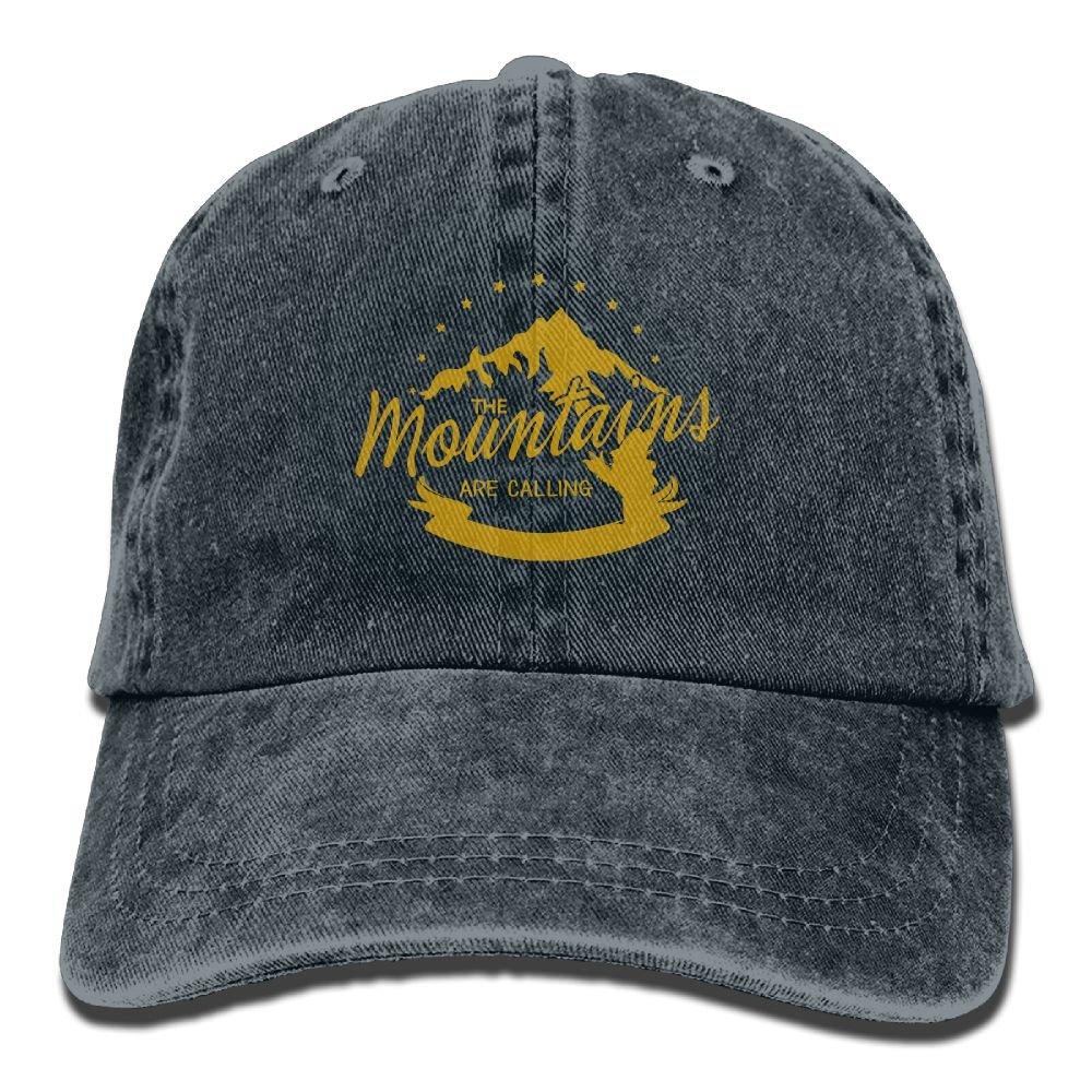 Woodsy Owl Explore Plain Adjustable Cowboy Cap Denim Hat for Women and Men