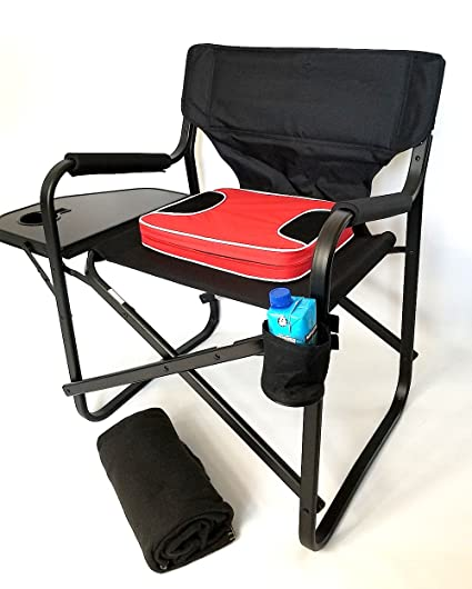 HEAVY DUTY GRAND DADDY XL CAPTAIN Chair With UNIQUE REMOVEABLE SEAT CUSHION  FOR EXTRA COMFORT