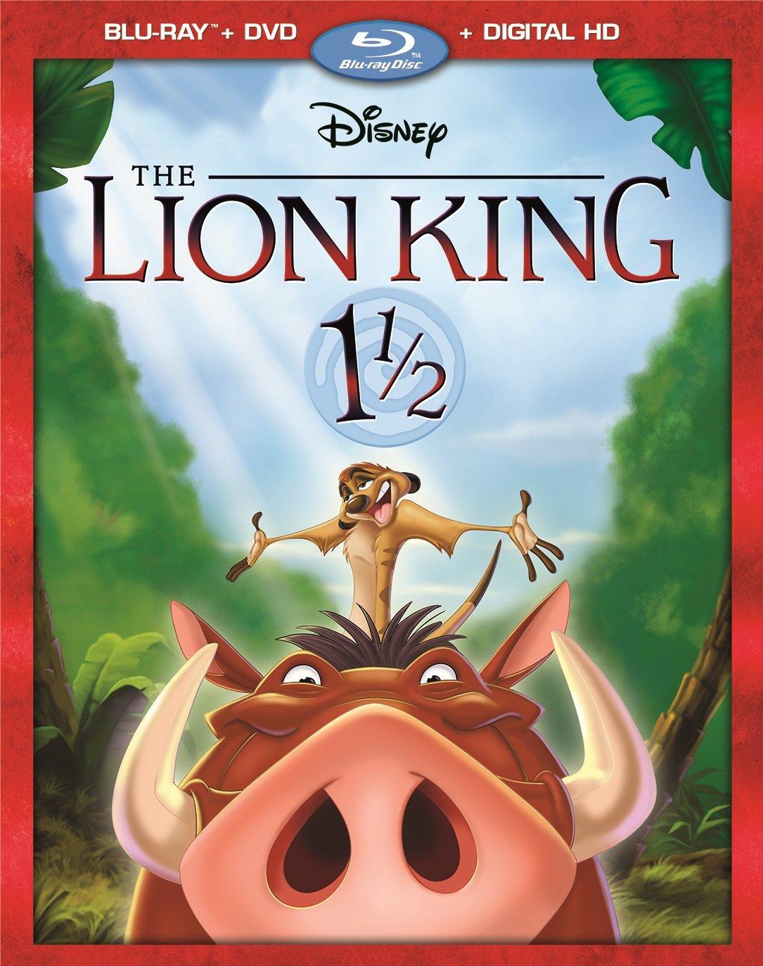 The Lion King 1 1/2 [Blu-ray] by Walt Disney Video