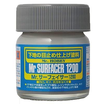 Mr. Surfacer 1200 NET.40ml Bottle Gundam Hobby: Toys & Games