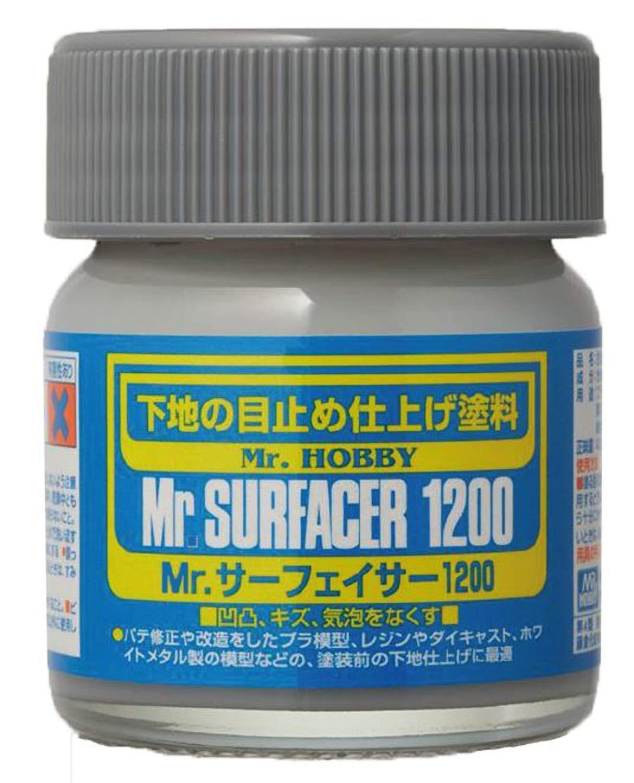 SF286 Mr. Surfacer 1200 Bottle 40ml, GSI