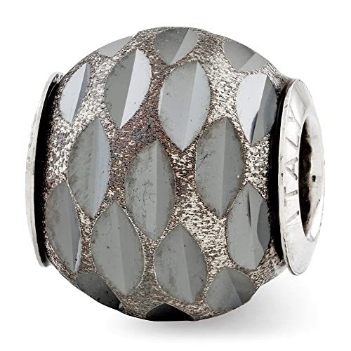 Reflections Sterling Silver Diamond-Cut Bead