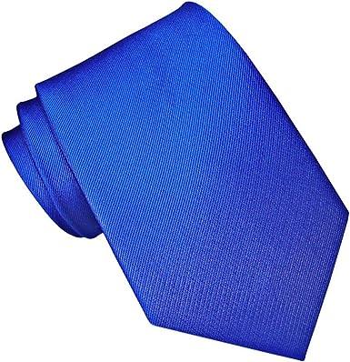 JOSVIL Corbata Seda Azul Electrico: Amazon.es: Ropa y accesorios