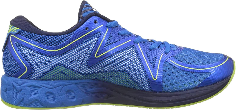 Mente Histérico factible  Asics Asics Noosa Ff T722n-4258, Men's Running Shoes, Multicolour (Electric  Blue/Peacoat/Energy Green), 9.5 UK (44.5 EU): Amazon.co.uk: Shoes & Bags