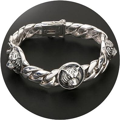 bracelet argent et or homme