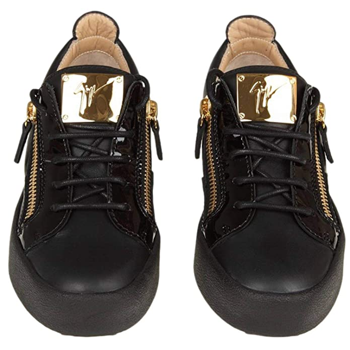 1dc82c5953e3d Amazon.com: Giuseppe Zanotti Design Women's Rw70000002 Black Leather ...