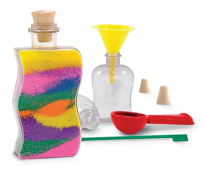 Melissa & Doug 14232 - Decora a tu gusto: botellas artísticas con arena: Melissa & Doug Sand Art Bottles: Amazon.es: Juguetes y juegos