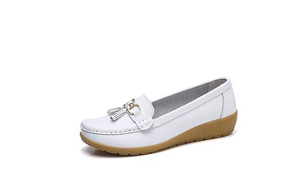 34941564b47 Morbuy Chaussures Mocassin des Femmes