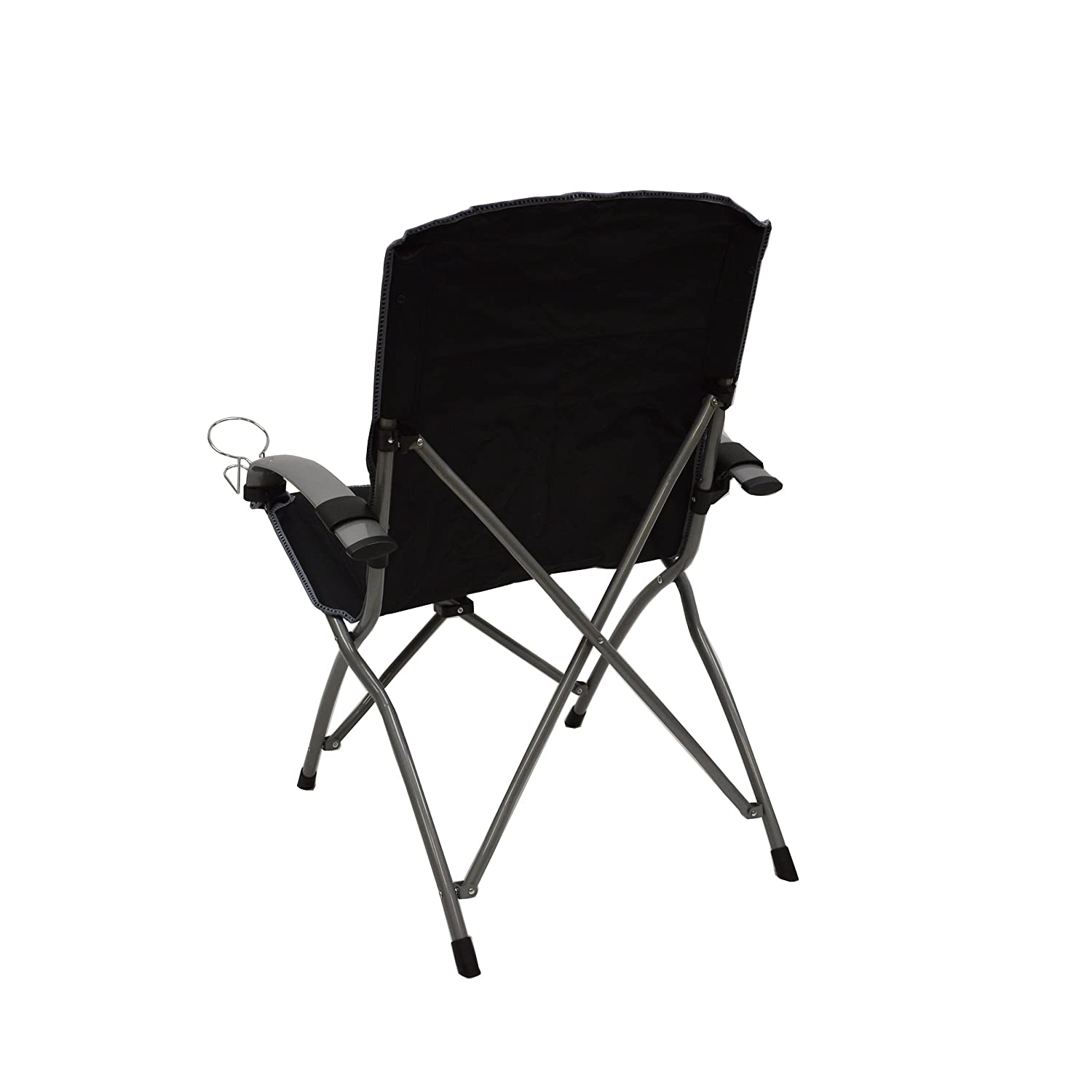 Amazon The mander Folding Armchair Black Garden & Outdoor