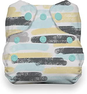 product image for Thirsties Newborn All in One Cloth Diaper, Snap Closure, Dreamscape