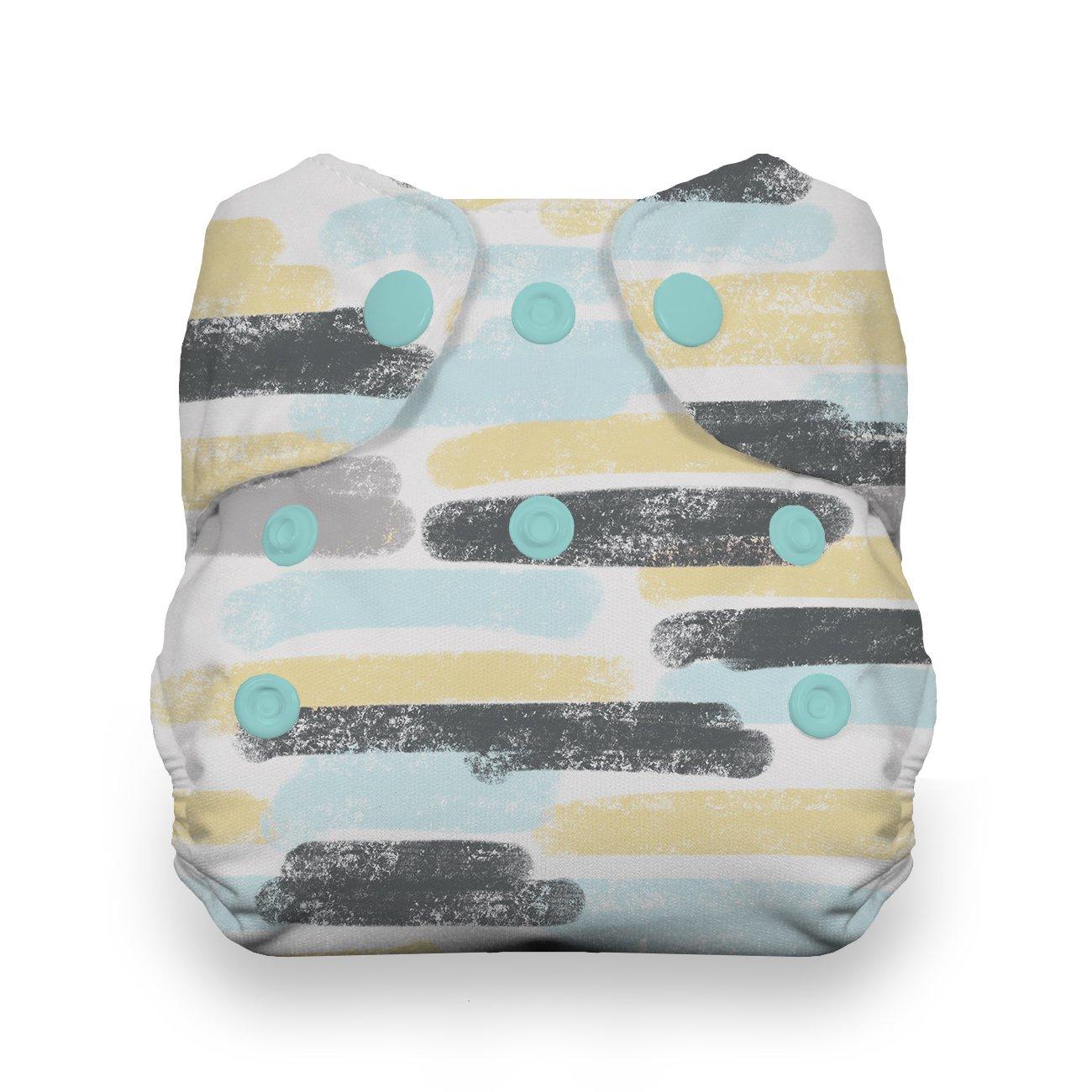Thirsties Newborn All in One Cloth Diaper, Snap Closure, Dreamscape
