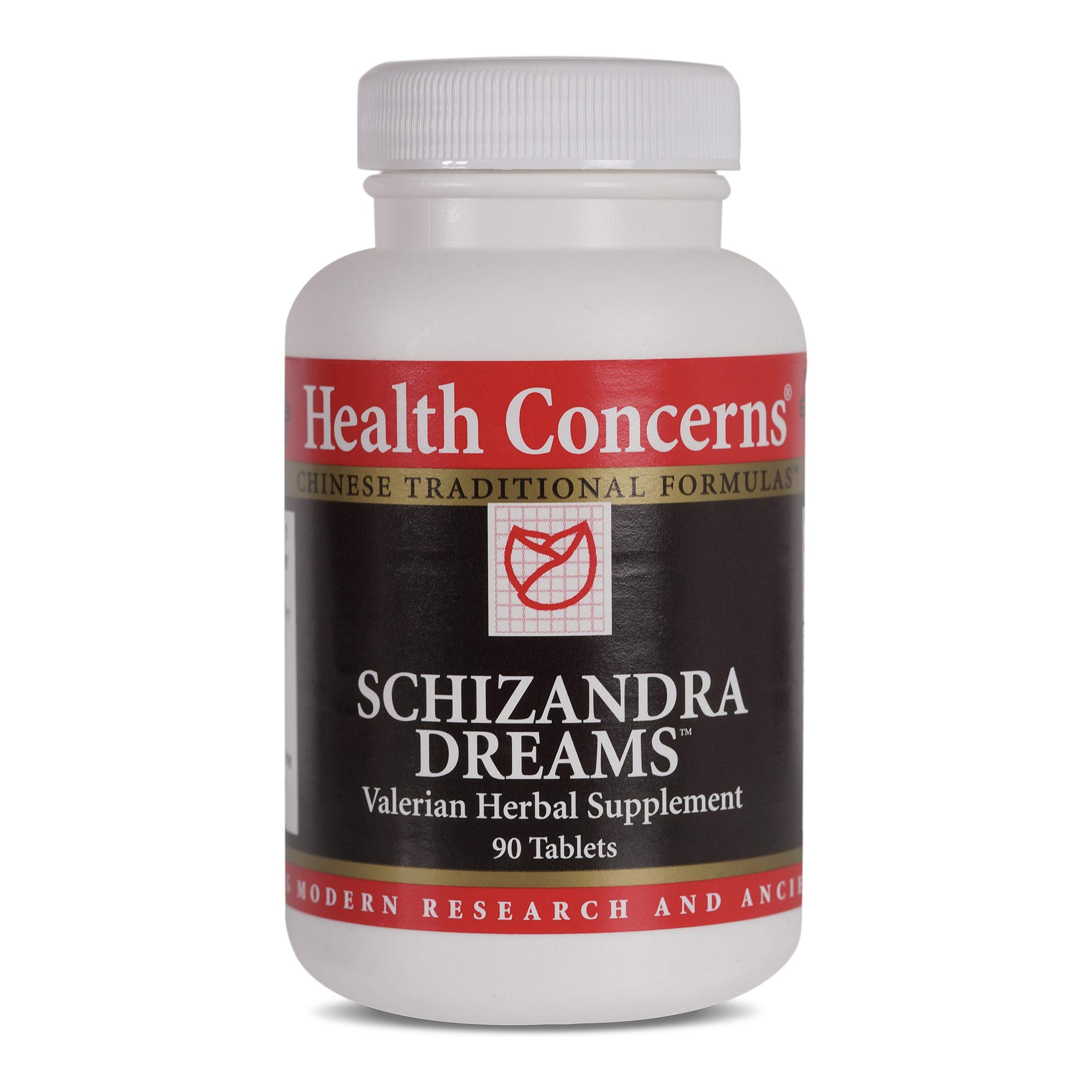 Health Concerns - Schizandra Dreams - Valerian Herbal Supplement - 90 Tablets